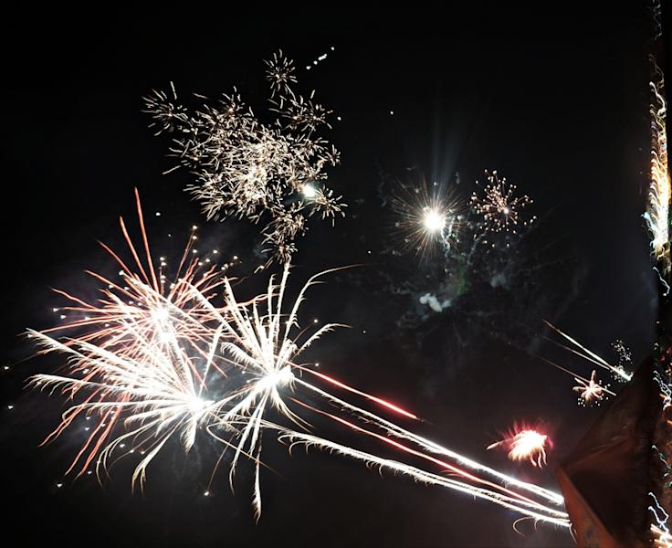 Changing rules: This year, fireworks are allowed on Kuta Beach. (