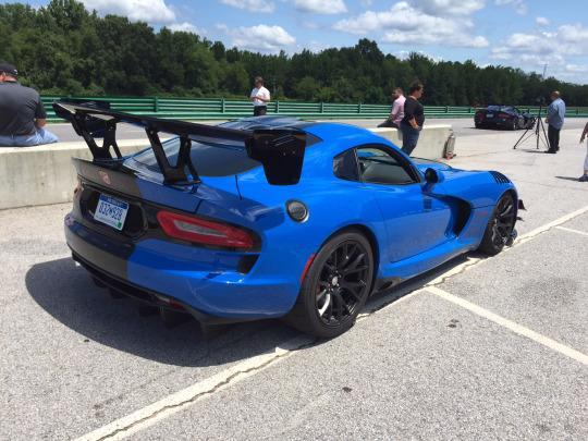 Dodge Viper ACR: The Barely Legal Race Car For The Street