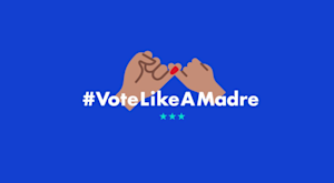 Vote Like A Madre Logo