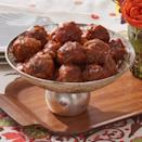 """<p>These cocktail meatballs are a little bit sweet from apricot preserves and a little spicy thanks to chili sauce and sriracha. All in all, it's the perfect bite. </p><p><a href=""""https://www.thepioneerwoman.com/food-cooking/recipes/a37761064/cocktail-meatballs/"""" rel=""""nofollow noopener"""" target=""""_blank"""" data-ylk=""""slk:Get Ree's recipe."""" class=""""link rapid-noclick-resp""""><strong>Get Ree's recipe.</strong></a></p>"""