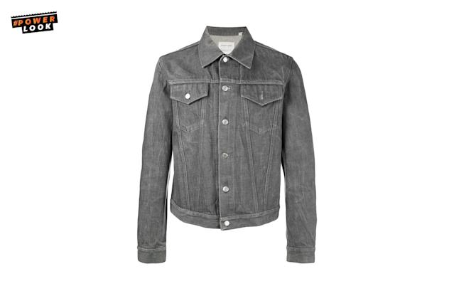 "<p>""I have a m<span>ini fixation with Helmut Lang jean jackets. </span><span>They're gettable online, pretty easily I'd think, even the vintage ones."" <em>Guy Trebay, New York Times Men's Fashion Critic </em></span><br>Helmut Lang Vintage Denim Jacket, <a href=""https://www.farfetch.com/shopping/men/helmut-lang-vintage-denim-jacket-item-11885737.aspx?storeid=9246&from=1&ffref=lp_pic_1_1_"" rel=""nofollow noopener"" target=""_blank"" data-ylk=""slk:$430"" class=""link rapid-noclick-resp"">$430</a><br><a href=""http://farfetch.com"" rel=""nofollow noopener"" target=""_blank"" data-ylk=""slk:farfetch.com"" class=""link rapid-noclick-resp"">farfetch.com</a> </p>"
