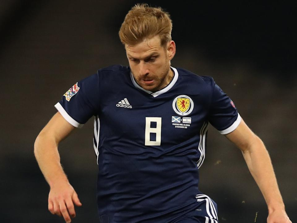 Stuart Armstrong of ScotlandGetty Images