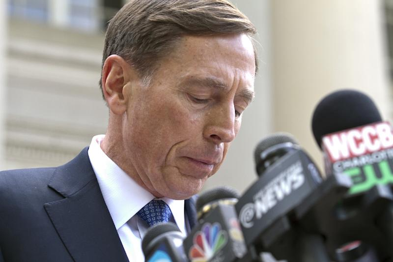 Disgraced former CIA chief and retired general David Petraeus, who recently pleaded guilty to providing secrets to his mistress, said that he would consider serving the US again if asked (AFP Photo/John W. Adkisson)
