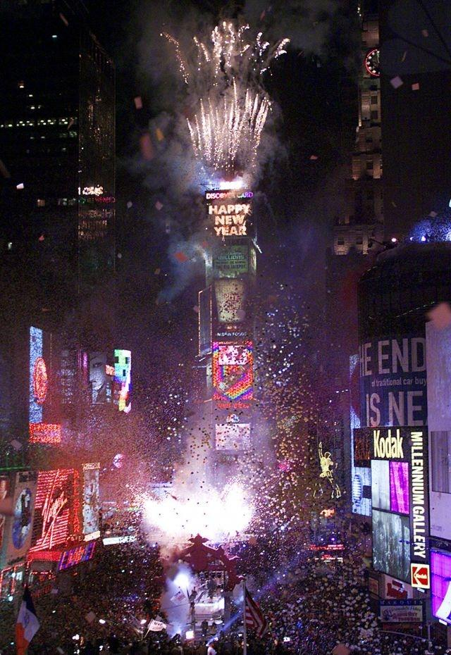 The beat goes on: fireworks, smoke and tear gas start new decade