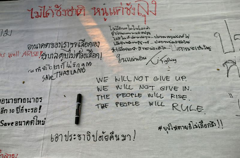 Banned Thai opposition party says junta helped 1MDB cover-up