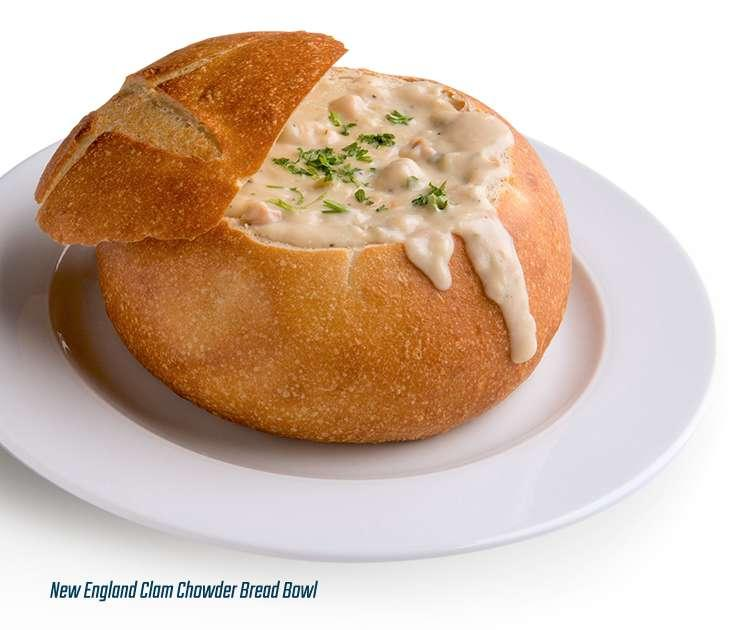 Whoever invented the bread bowl should be canonised.