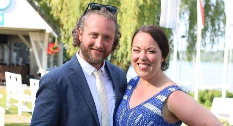 Picture of Roderick Deakin-White and fiancee, Amy Parsons. Ms Parsons had told Deakin-White she was leaving him before he brutally murdered her.