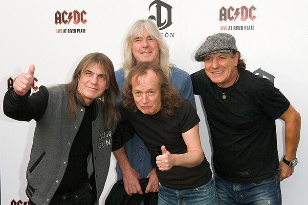 Members of AC/DC in 2011. Credit: Getty Images