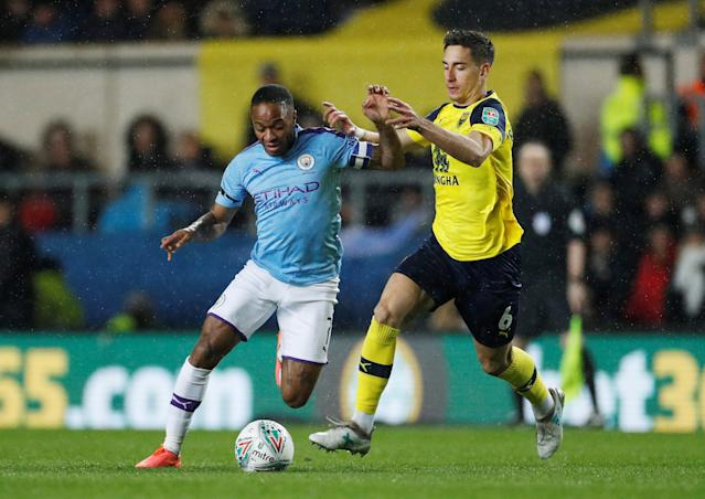 Raheem Sterling and Alex Rodriguez (Credit: Getty Images)