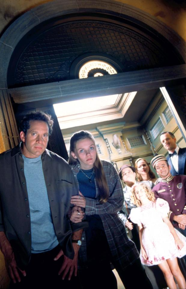 """<p>This is yet another movie named after a Disney ride! A journalist and his niece try to crack a curse that haunts the Hollywood Tower Hotel, where five guests disappeared in 1939 while on an elevator ride. The uncle and niece duo are played by Steve Guttenberg and a young <a class=""""sugar-inline-link ga-track"""" title=""""Latest photos and news for Kirsten Dunst"""" href=""""https://www.popsugar.co.uk/Kirsten-Dunst"""" target=""""_blank"""" data-ga-category=""""internal click"""" data-ga-label=""""https://www.popsugar.co.uk/Kirsten-Dunst"""" data-ga-action=""""body text link"""">Kirsten Dunst</a>.</p> <p><strong> Where to buy it:</strong> <product href=""""http://www.amazon.com/Tower-Terror-Steve-Guttenberg/dp/B00008L3SY"""" target=""""_blank"""" class=""""ga-track"""" data-ga-category=""""internal click"""" data-ga-label=""""http://www.amazon.com/Tower-Terror-Steve-Guttenberg/dp/B00008L3SY"""" data-ga-action=""""body text link"""">Amazon ($9 to buy)</product></p>"""