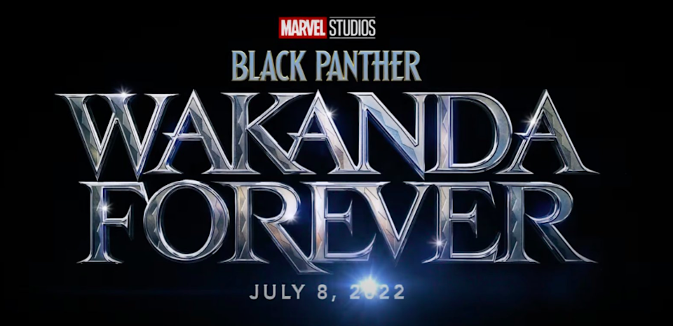 Black Panther 2 will officially be called 'Black Panther: Wakanda Forever'Marvel Studios