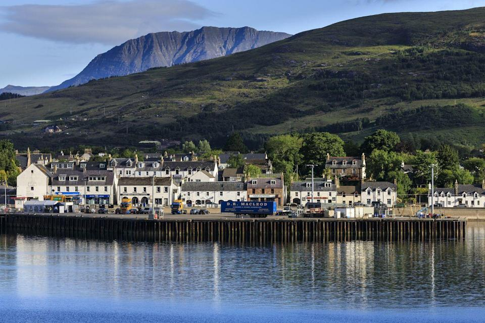 """<p>Tucked away in the magnificent <a href=""""https://www.goodhousekeepingholidays.com/tours/scotland-highlands-steam-train-jacobite"""" rel=""""nofollow noopener"""" target=""""_blank"""" data-ylk=""""slk:Scottish Highlands"""" class=""""link rapid-noclick-resp"""">Scottish Highlands</a>, this historic harbour town is a great place for outdoor adventures, with stunning views of the ancient landscapes in Inverpolly National Nature Reserve.</p><p>Unsurprisingly it's also a great spot for seafood if that's your thing, and you'll be well rewarded with a trip here. Try the <a href=""""https://www.seafoodshack.co.uk/"""" rel=""""nofollow noopener"""" target=""""_blank"""" data-ylk=""""slk:Seafood Shack"""" class=""""link rapid-noclick-resp"""">Seafood Shack</a> for a rustic taste of some of the most delicious fresh fish the UK has to offer.</p><p><strong>Experience <a href=""""https://www.goodhousekeepingholidays.com/tours/uk-scotland-west-coast-tradewind-cruise"""" rel=""""nofollow noopener"""" target=""""_blank"""" data-ylk=""""slk:Ullapool and other west coast gems"""" class=""""link rapid-noclick-resp"""">Ullapool and other west coast gems</a> during a cruise with Good Housekeeping</strong></p>"""