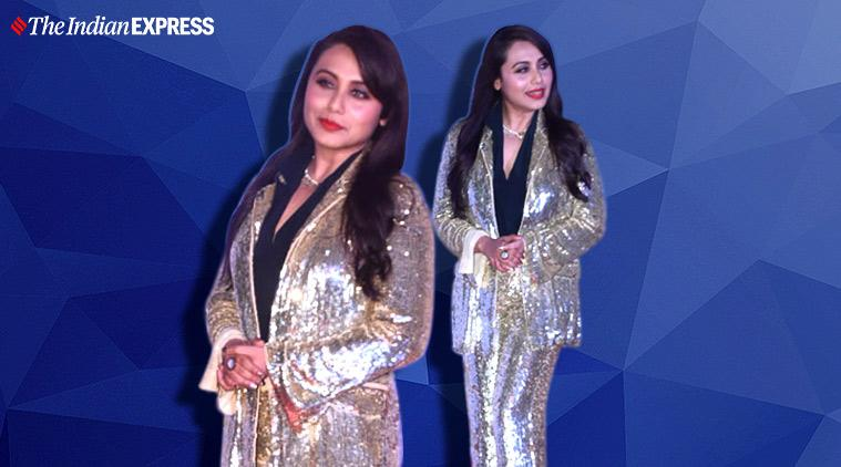 umang awards, rani mukerji umang awards, umang awards photo, priyanka chopra jonas, janhvi kapoor, katrina kaif, umang awards, indian express, indian express news