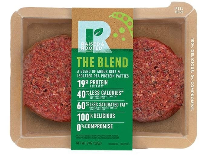 Beyond Meat's new competitor: Tyson's pea-and-meat blended burger