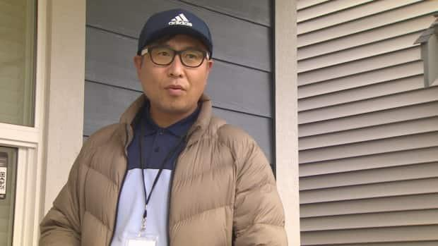 Eugene Oh was one of several realtors who lined up for days to try and secure a townhome in Langley, B.C., for a client.