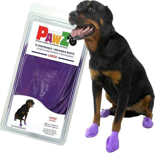 Pawz Waterproof Dog Boots, 12 count (Photo: Chewy)