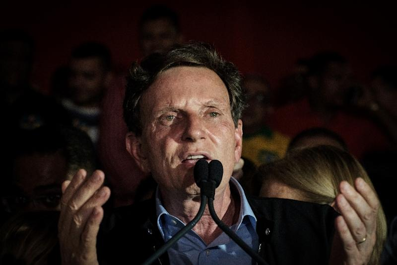 Newly elected Rio de Janeiro Mayor Marcelo Crivella, a bishop in an evangelical church, skipped the traditional opening of the world's most famous carnival