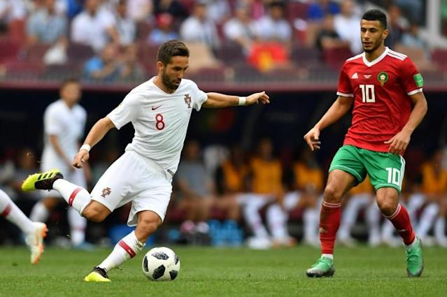 An illness affecting Joao Moutinho could force Fernando Santos into a reshuffle ahead of Portugal's game with Iran