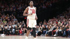 Trail Blazers big Caleb Swanigan