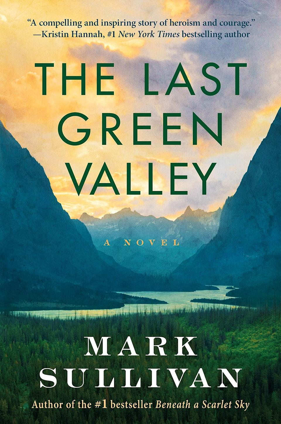 """<p>Set during the final days of World War II, <span><strong>The Last Green Valley</strong></span> by Mark Sullivan follows Emil and Adeline Martel as they make the impossible decision to wait for Russia to take over their Ukrainian village or join the hated German Nazis who swear they'll protect them due to their status as """"pure-blood"""" Germans. Ultimately, they opt to go with the Germans, leaving them trapped between two powerful and dangerous forces as they search for a safe place to call home. </p> <p><em>Out May 4</em></p>"""