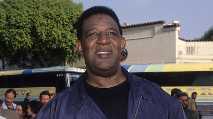 WESTWOOD, CA - JUNE 13:   Actor/Athlete Frank McRae attends the