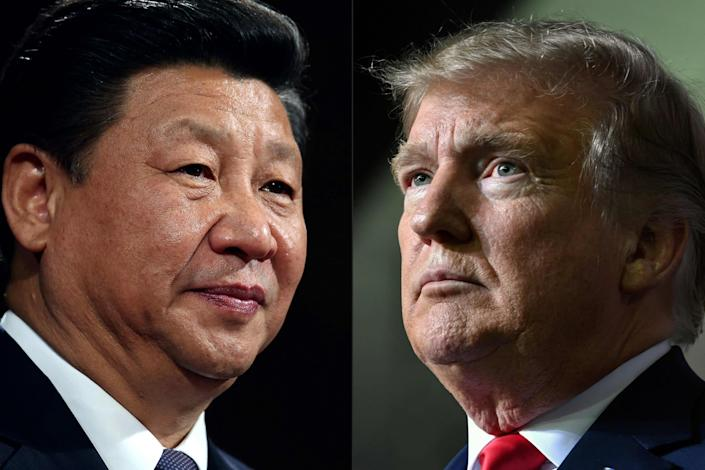 Donald Trump has blamed Xi Jinping's government for allowing the coronavirus to spread: AFP via Getty Images