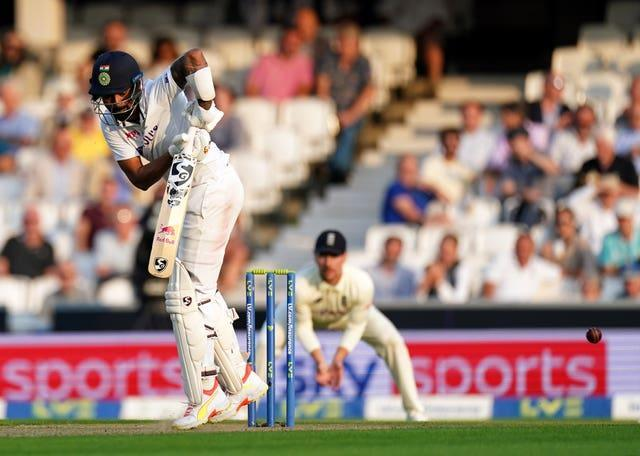 KL Rahul helped India fight back at the end of day two
