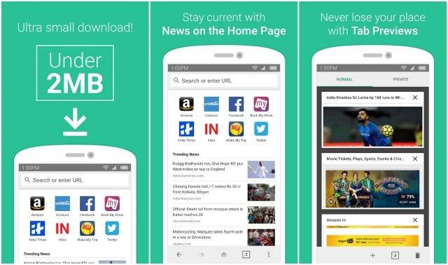 Amazon releases lightweight Android web browser called 'Internet' in India