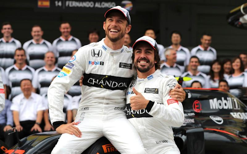 Jenson Button will replace Fernando Alonso for the Monaco Grand Prix - AP