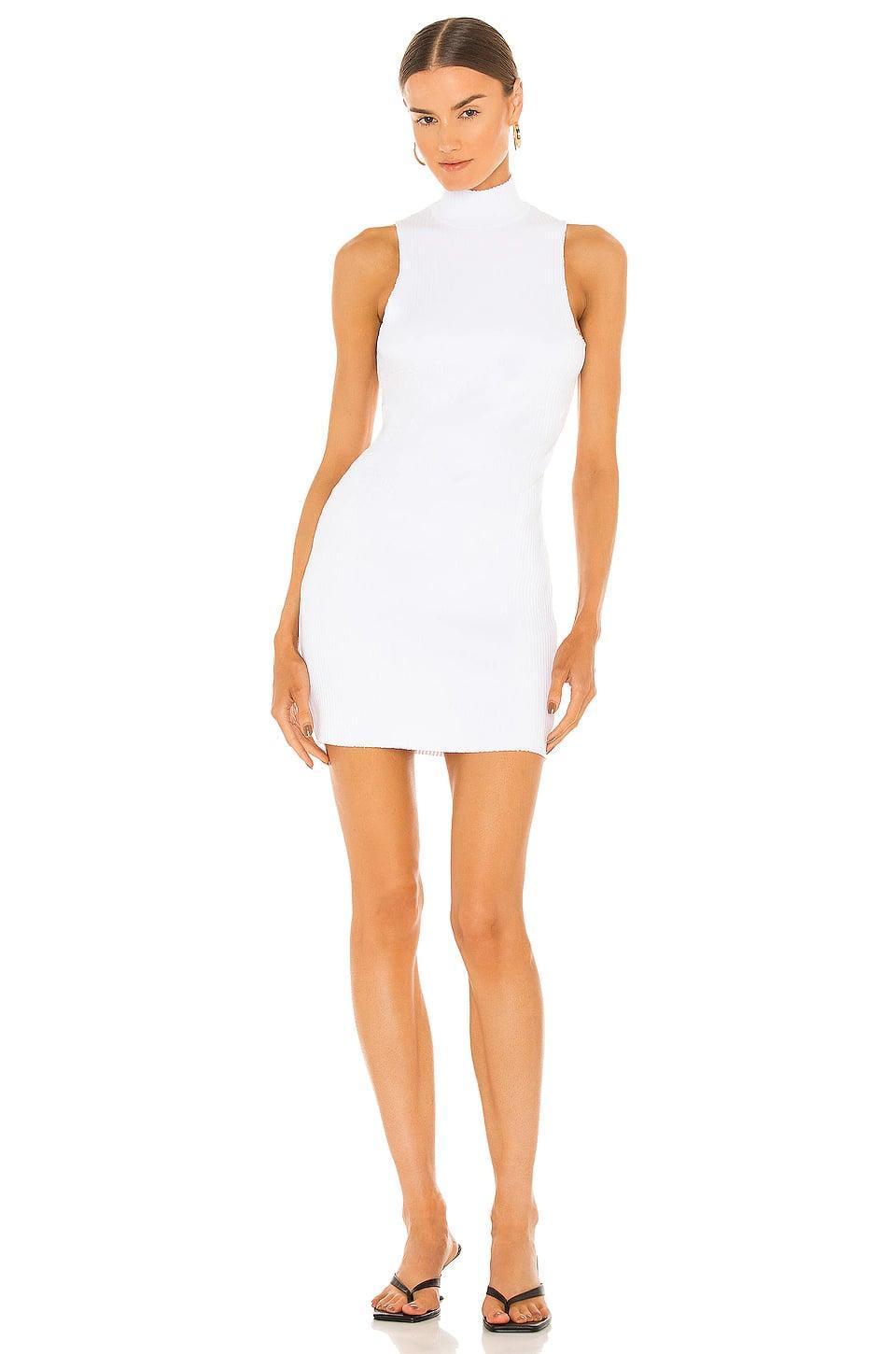 <p>This <span>Cotton Citizen x Revolve Ibiza Racerback Dress XO</span> ($185) is so fun, and easy to dress up from day to night. It looks great with sneakers, sandals, or even heels.</p>