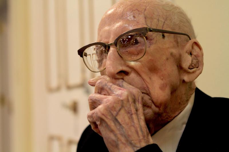 When Walter Bruening died in April, 2011, he was 114 years, 205 days old. He smoked cigars until he was 99.