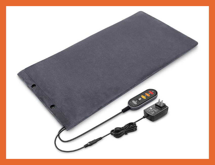 Today only: Save nearly 10 percent—Comfier Heating Pad for Back Pain Relief. (Photo: Amazon)