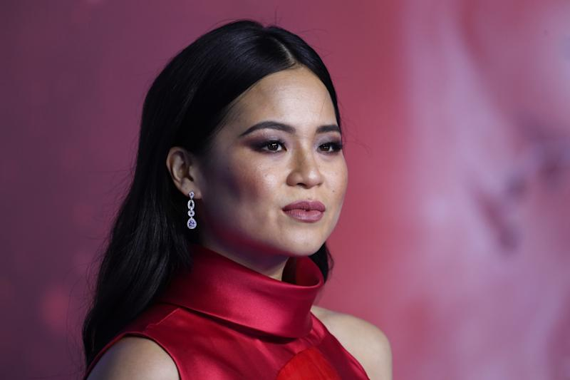 "Kelly Marie Tran attends the European premiere of ""Star Wars: The Rise of Skywalker"" on December 18, 2019. (Photo by Gareth Cattermole/Getty Images for Disney)"