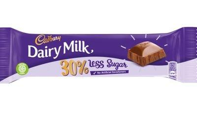 Cadbury cuts sugar by a third in Dairy Milk