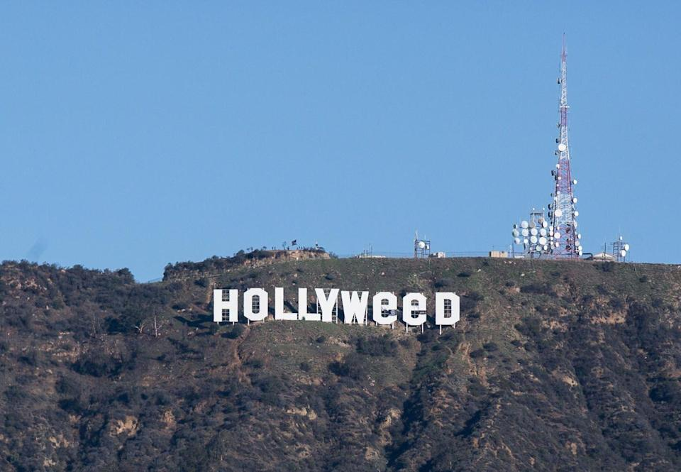 <p>The iconic Hollywood sign was vandalized to read 'Hollyweed' in 1983. The vandal used tarps to turn the O's into E's. This wasn't the only time that something like this happened – the same prank was pulled in 1976 and again in 2017. </p>