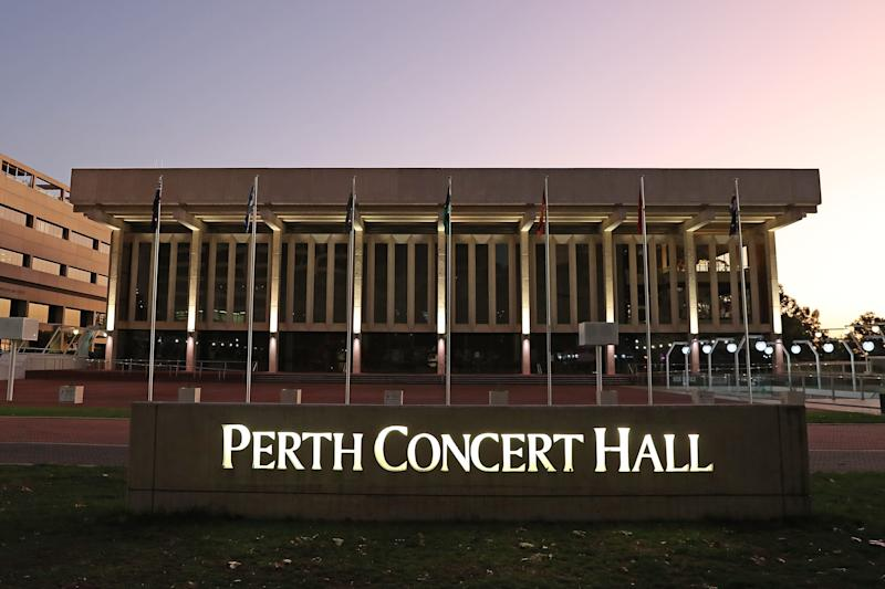 General views of the Perth Concert Hall are seen following the cancelled Russell Brand show on March 09, 2020 in Perth, Australia. (Photo by Paul Kane/Getty Images) (Photo: Paul Kane via Getty Images)