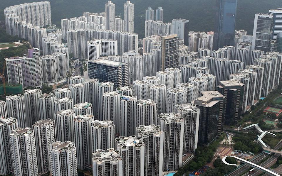 An aerial view of Swire Properties' Taikoo Shing project in Hong Kong as of 30 May 2012. Photo: SCMP
