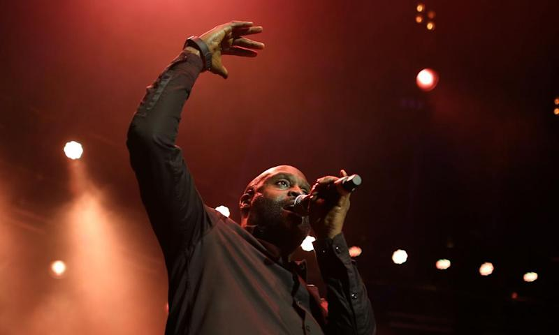 De La Soul's Posdnuos at the Roundhouse, London.
