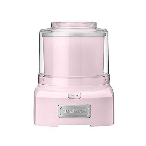 """<p><strong>Cuisinart</strong></p><p>amazon.com</p><p><strong>$79.62</strong></p><p><a href=""""https://www.amazon.com/dp/B01CUT54SG?tag=syn-yahoo-20&ascsubtag=%5Bartid%7C10050.g.23480472%5Bsrc%7Cyahoo-us"""" rel=""""nofollow noopener"""" target=""""_blank"""" data-ylk=""""slk:Shop Now"""" class=""""link rapid-noclick-resp"""">Shop Now</a></p><p>No, your eyes aren't deceiving you. This pretty, best-selling ice cream machine really is under $50—and boasts over 5,000 glowing reviews to boot.</p>"""