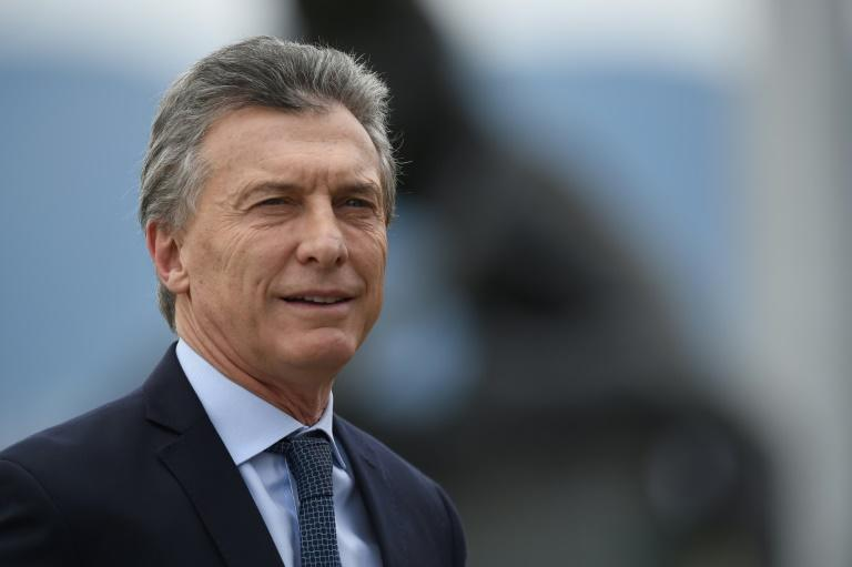 Argentine President Mauricio Macri says IMF help is on the way
