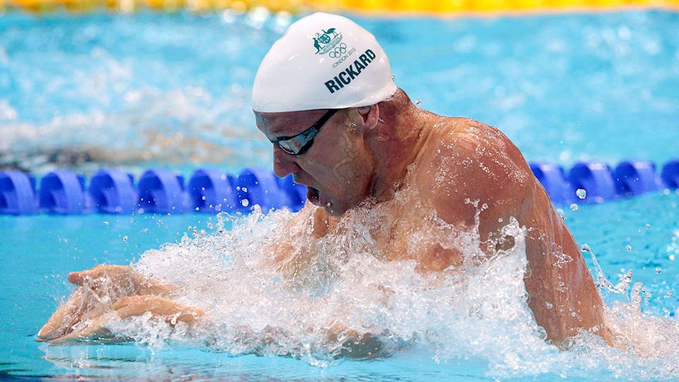 Brenton Rickard, pictured here at the London 2012 Olympic Games.