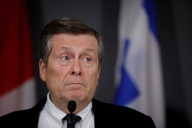 Toronto Mayor John Tory says relatives of older residents should help them register for vaccines, if they are having trouble doing so themselves. (Cole Burston/The Canadian Press - image credit)