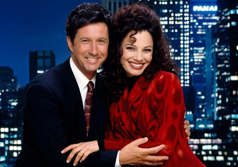 The Nanny with Charles Shaughnessy and Fran Drescher | CBS via Getty