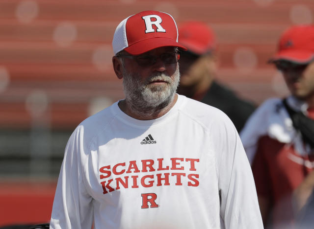 Kill was hired at Rutgers before the 2017 season. (AP Photo/Julio Cortez, File)