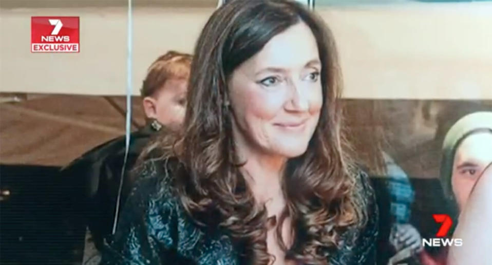 Borce Ristevski's son said his father was not a violent person but had hit Karen before and she vowed he would never do it again. Source: 7 News