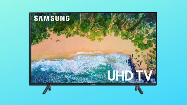 Save $322 on this crisp, vivid 4K TV, with a larger-than-life picture!(Photo: Walmart/Yahoo Lifestyle)