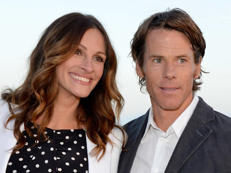 Julia Roberts and Daniel Moder in 2012. (Lester Cohen via Getty Images)