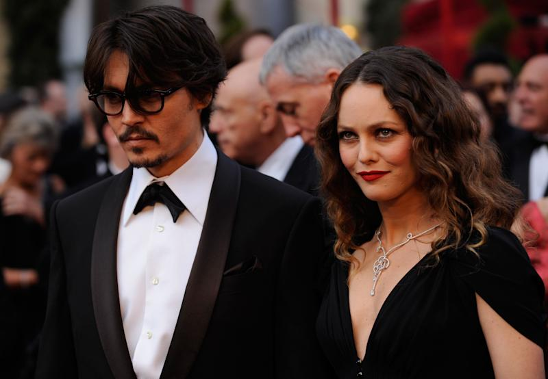 Depp and Paradis pictured in 2008 (Photo: ASSOCIATED PRESS)