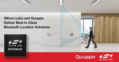 Silicon Labs and Quuppa collaborate to deliver best-in-class Bluetooth location solutions.