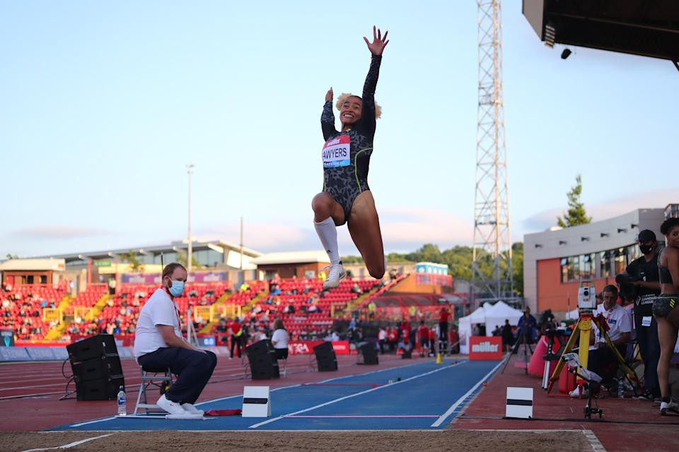 Sawyers in action in Gateshead ahead of the Olympics (Getty Images)
